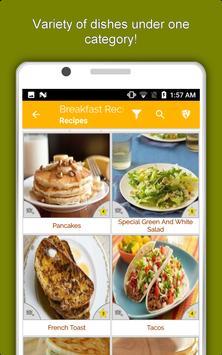 Healthy Breakfast Recipes, Snacks, Eggs, Juice screenshot 12