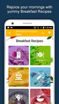 Healthy Breakfast Recipes, Snacks, Eggs, Juice screenshot 1