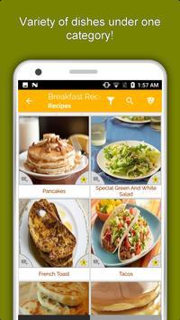 Healthy Breakfast Recipes, Snacks, Eggs, Juice screenshot 4