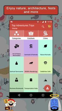 Adventurous Countries App : Adventure Travel Guide poster