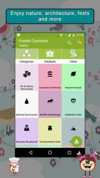 Foodie Countries SMART Guide poster