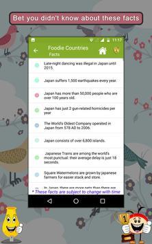 Foodie Countries SMART Guide apk screenshot