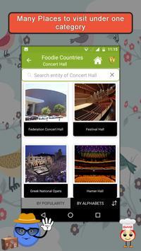 Foodie Countries SMART Guide screenshot 2