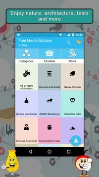 Media Independent Nations App poster