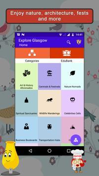 Glasgow- Travel & Explore poster