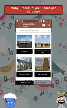 Literary Cities SMART Guide apk screenshot