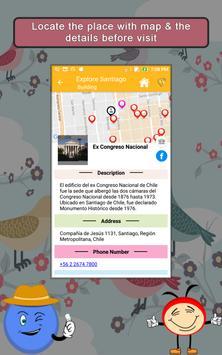 Explore Santiago SMART  Guide apk screenshot