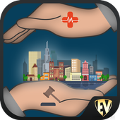 Safe & Secure Cities SMART App icon