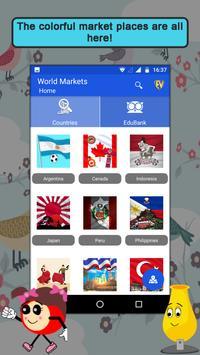 World Famous Markets- Travel & Explore poster