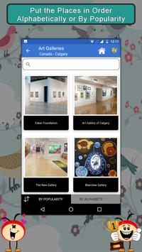 World Famous Art Galleries- Travel & Explore screenshot 3