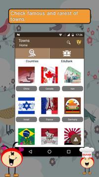 Famous Towns- Travel & Explore poster