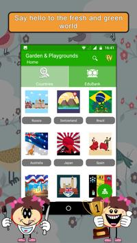 Famous Gardens & Playgrounds- Travel & Explore poster
