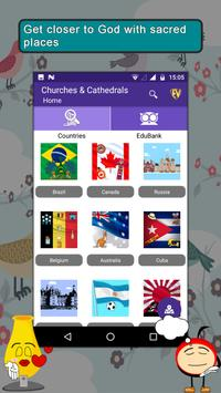 Churches & Cathedrals Worldwide- Travel & Explore poster
