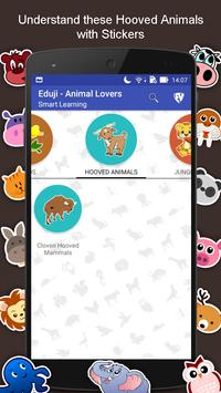 SMART EduJi Animal Lovers apk screenshot