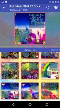 Holi EduJis SMART Stickers apk screenshot