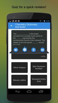 Chemistry Dictionary apk screenshot