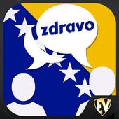 Speak Bosnian : Learn Bosnian Language Offline icon