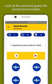 Speak Bosnian : Learn Bosnian Language Offline apk screenshot