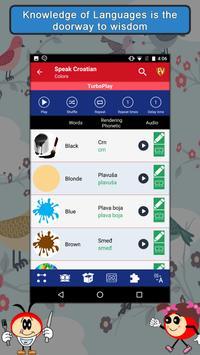 Speak Croatian : Learn Croatian Language Offline apk screenshot