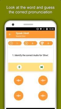 Speak Hindi : Learn Hindi Language Offline apk screenshot