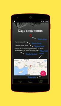 Days Since Terror apk screenshot