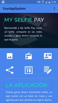 My Selfie Pay poster