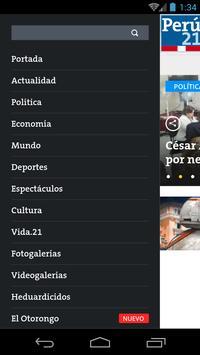 Perú21 apk screenshot