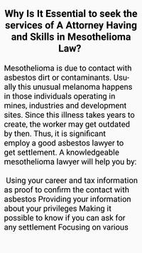 Mesothelioma Law Firm screenshot 5