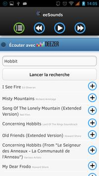 eeSounds (with Deezer) screenshot 1