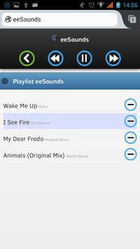 eeSounds (with Deezer) screenshot 2