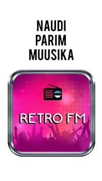 Raadio Retro FM 97.8 Retro FM Eesti poster