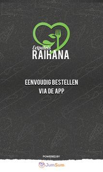 Eetpaleis Raihana poster