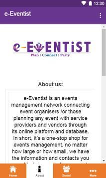 e-Eventist poster