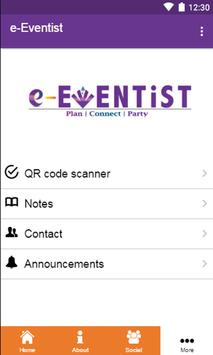 e-Eventist screenshot 1