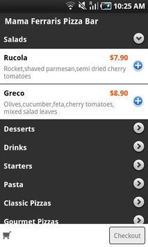 Mama Ferrari's Pizza Bar apk screenshot