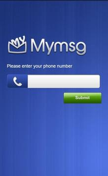 MyMsg poster