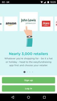 easyfundraising: online shopping & fundraising apk screenshot