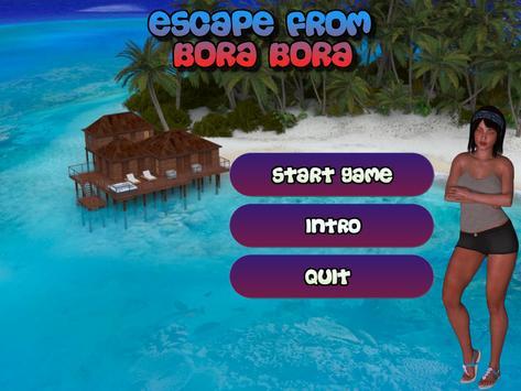 Escape From Bora Bora poster