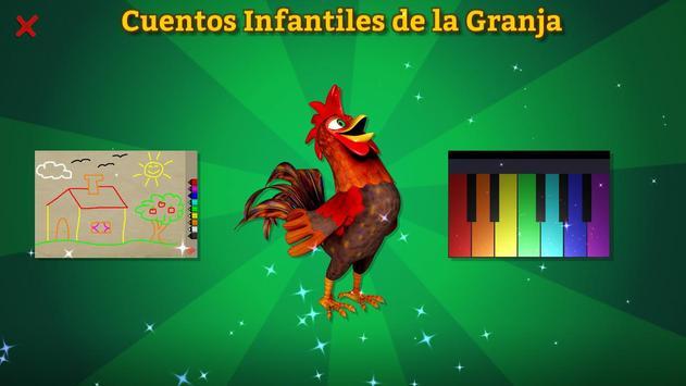 El Gallo Pinto Cuento Infantil poster