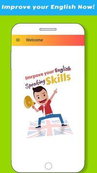 Improve English Speaking Skills poster
