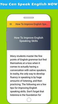 Improve English Speaking Skills screenshot 1