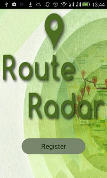 Route Radar Tracker apk screenshot