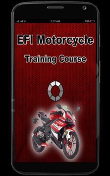 EFI Motorcycle Training poster