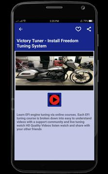 EFI Motorcycle Training apk screenshot