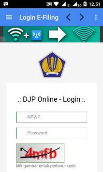 E-Filing DJP Online poster
