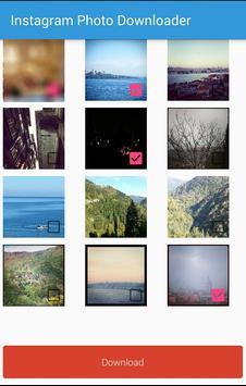 Photo Downloader for Instagram apk screenshot
