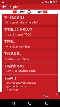 Chinese - Turkish screenshot 2