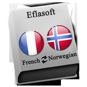 French - Norwegian icon