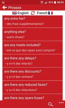 French - English screenshot 2