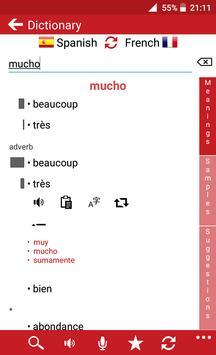 French - Spanish screenshot 1